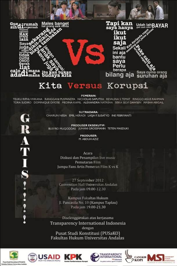 kita versus korupsi