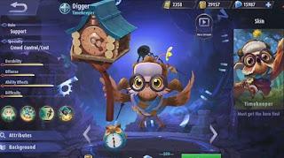 Digger, Hero Mobile Legends Terbaru yang Tidak Bisa Mati