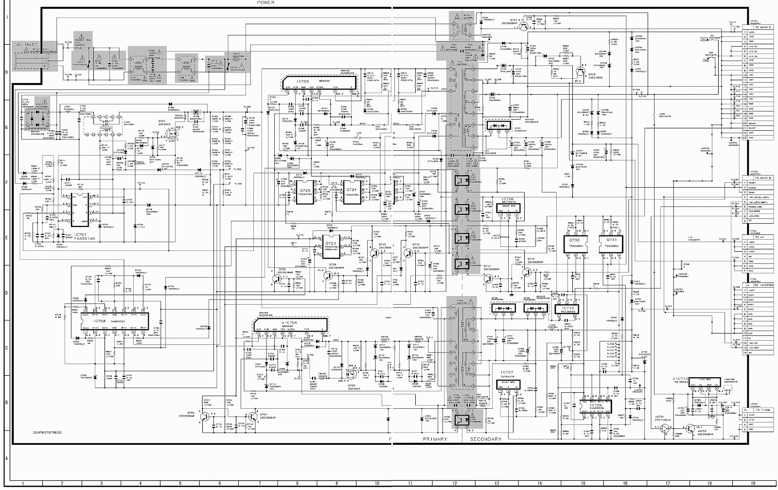Electro help: Sharp LC-37XD1E/RU – DUNTKD787WE01