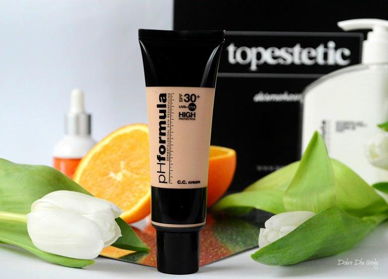 pH Formuła CC Cream SPF 30+ Medium Krem barwiony ochronny z retinolem i witaminą C recenzja