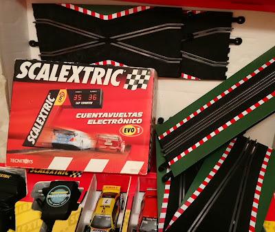Lote de pistas y accesorios Scalextric