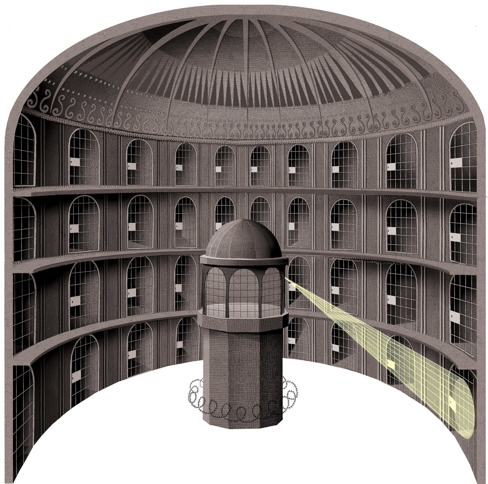 privacy fourth year this leads on to michel foucault s panopticism which is elaborating more on the disciplinary mechanisms in such a prison and discipline as an apparatus of