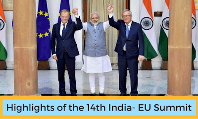 Highlights of the 14th India- EU Summit