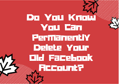 Do you know you can permanently delete your old Facebook account?