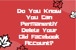 Do you know you can permanently delete your old Facebook account? #DeleteFacebook