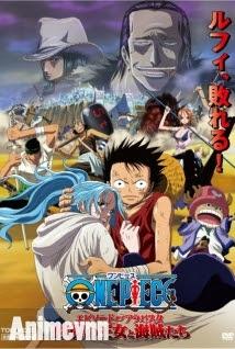 One Piece Movie 8 :Cuộc Chiến Ở Vương Quốc Alabasta - One Piece The Movie: Episode of Arabasta 2013 Poster