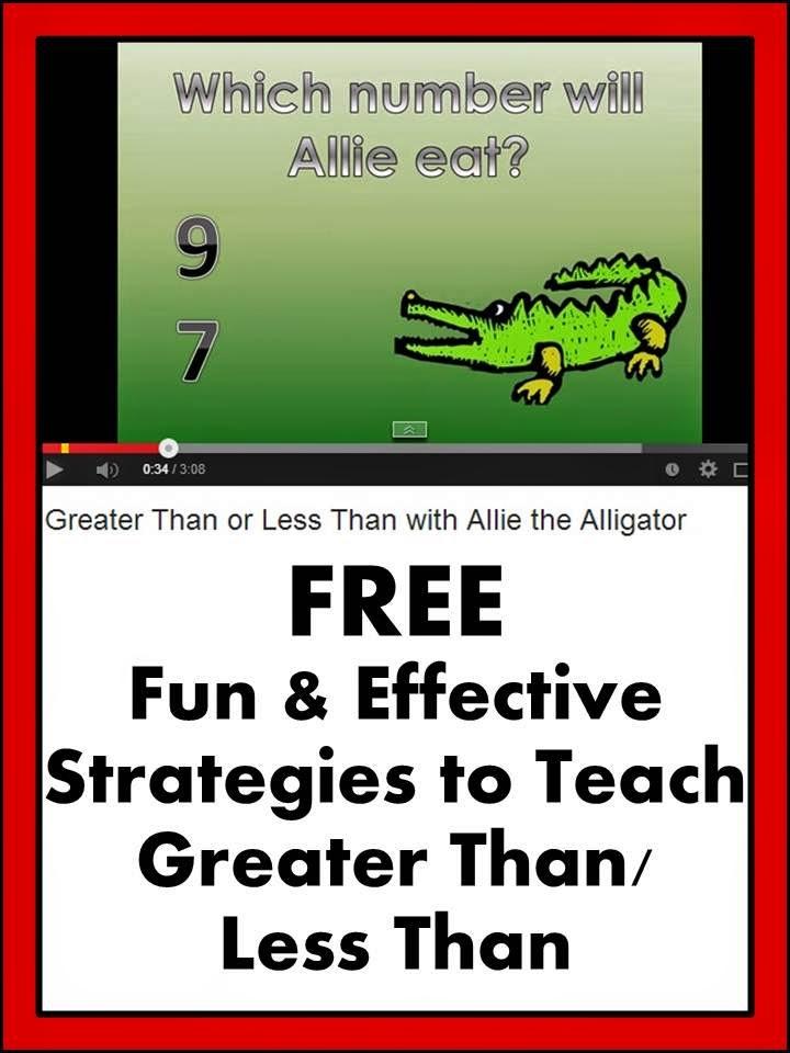 Math Greater than Less Than Teachers Pay Teachers Promoting-Success