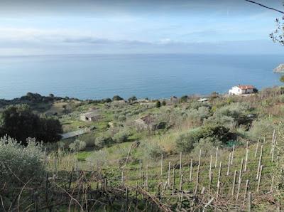 panorama dal sentiero da Moneglia a Deiva Marina