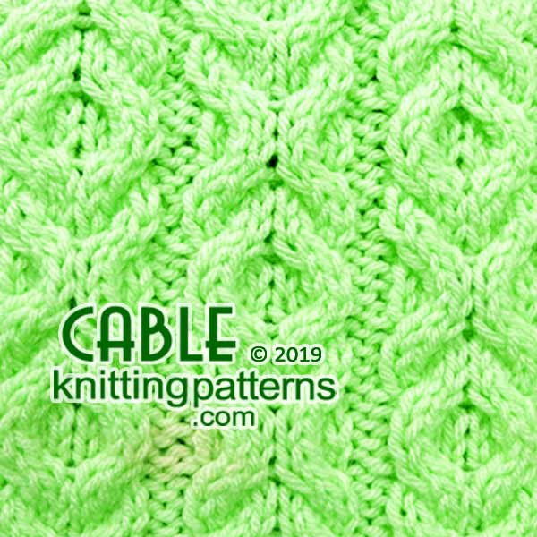 Knitted Cables. Free pattern #cableknitting