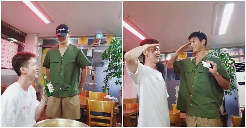 Jo Kwon, 2AM, Jinwoon,