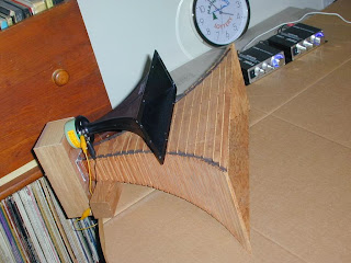 580088-1 Horn Tweeter with Plywood Horn and Back Enclosure