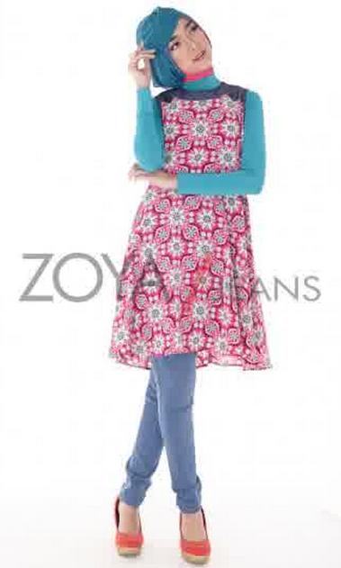 Koleksi Dress Muslim Zoya untuk Wanita