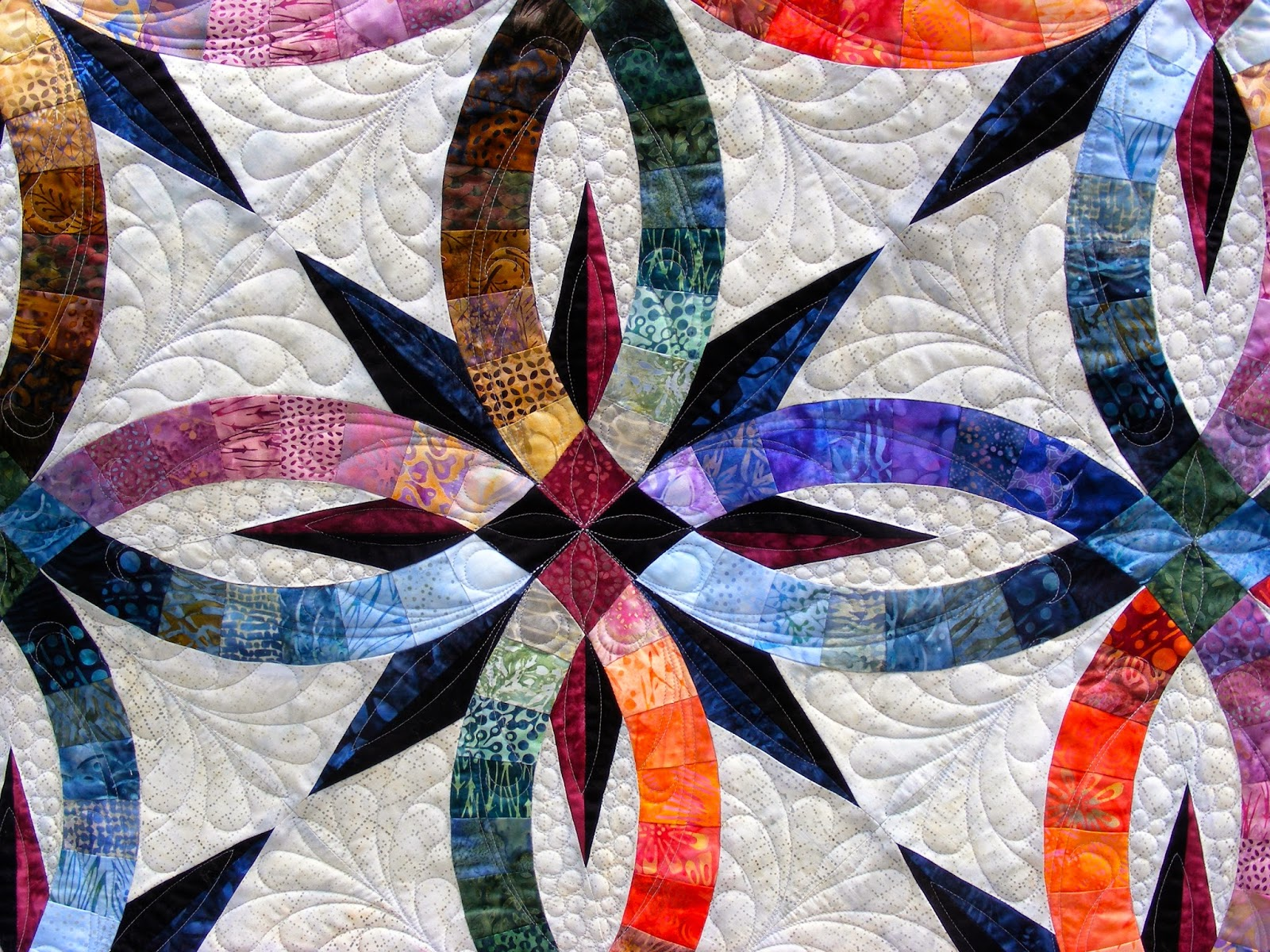 Wedding Ring Quilt Patterns Tia Curtis Quilts Quilts Of The Week