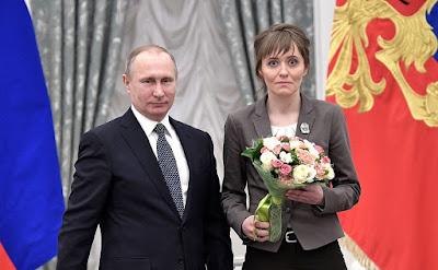 Vladimir Putin, Yelena Lushchevskaya.