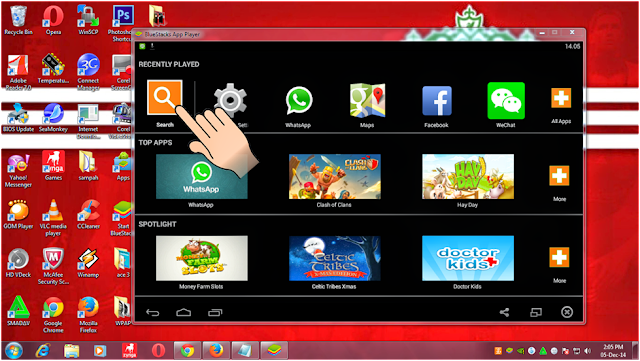 Start Bluestacks