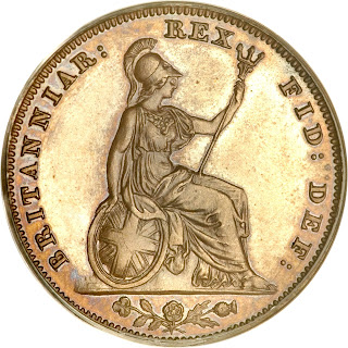 British Coins Farthing 1831 Britannia