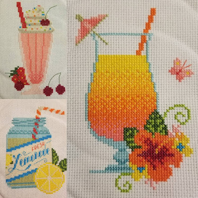 Drinks Cross Stitch