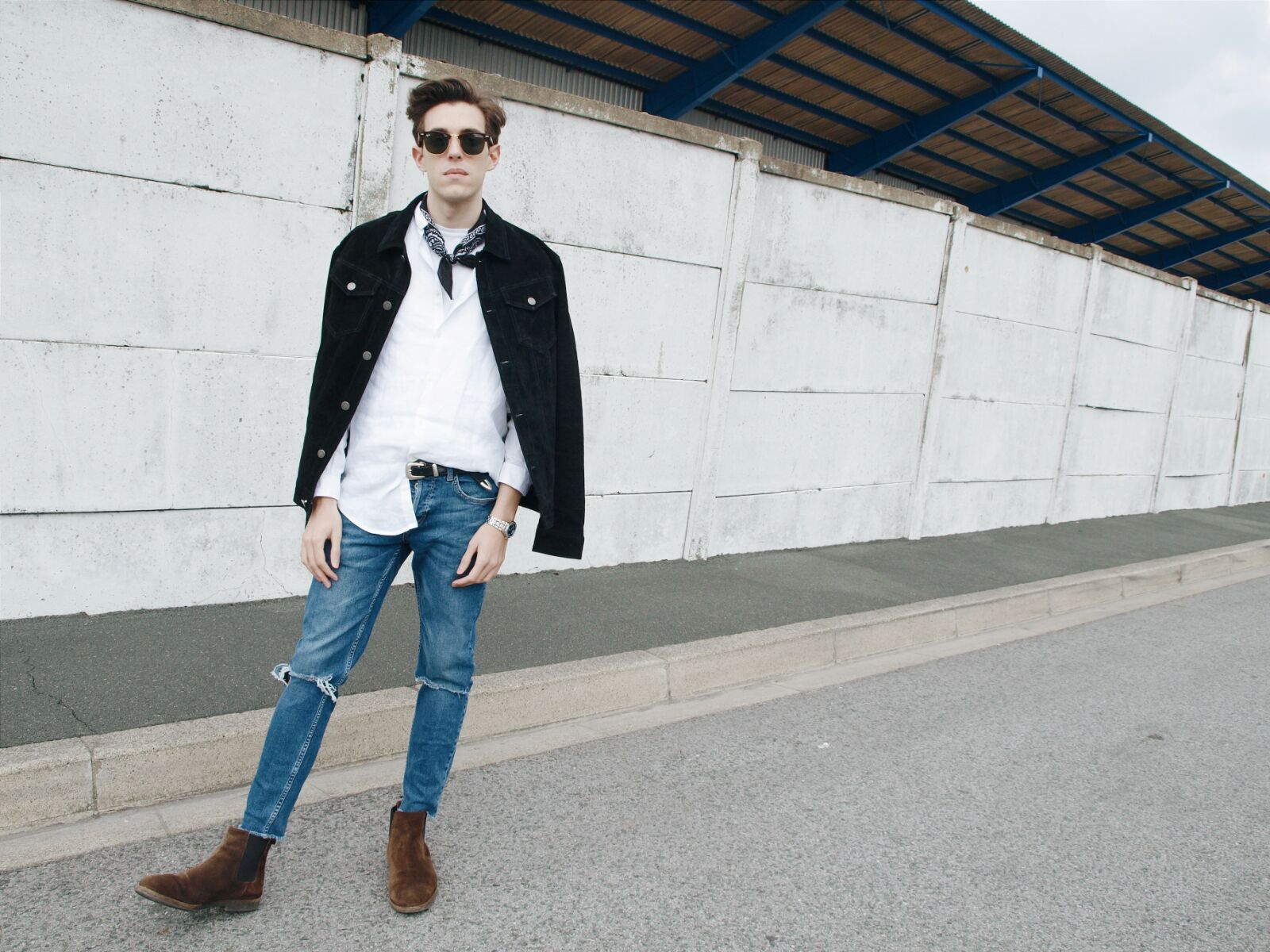 coastalandco-blog-bandana-denim-boots-fashion-man-style-street 2