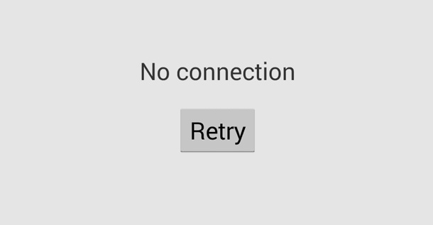 playstore error no connection