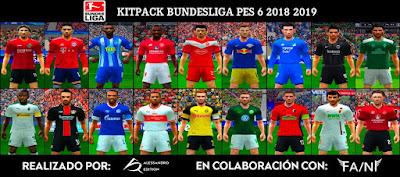 PES 6 Bundesliga Full Kitpack Season 2018/2019