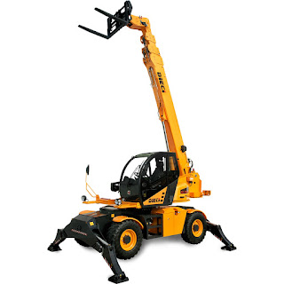 Brand New Pegasus 40.25 Rotating Teleahandler Forklift