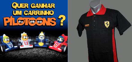Promoção Carpoint News e Seguro Auto  Concorra a 1 camiseta da Ferrari + 1  Carrinho da Pilottons! bc969b4924547