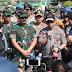 Kapolri dan Panglima TNI Kunjungi Korban Gempa Lombok
