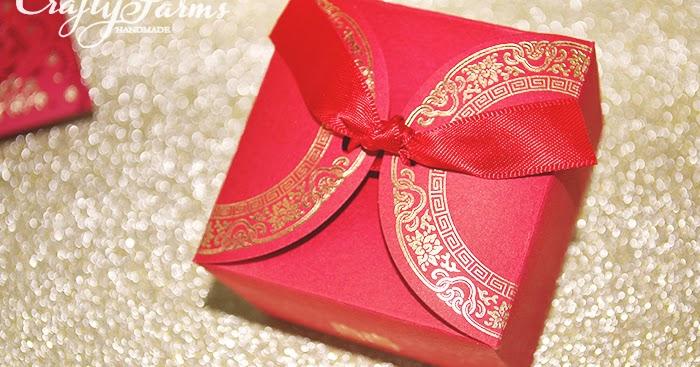 Wedding Gift Card Malaysia : Wedding Card Malaysia Crafty Farms Handmade : Double Happiness Red ...