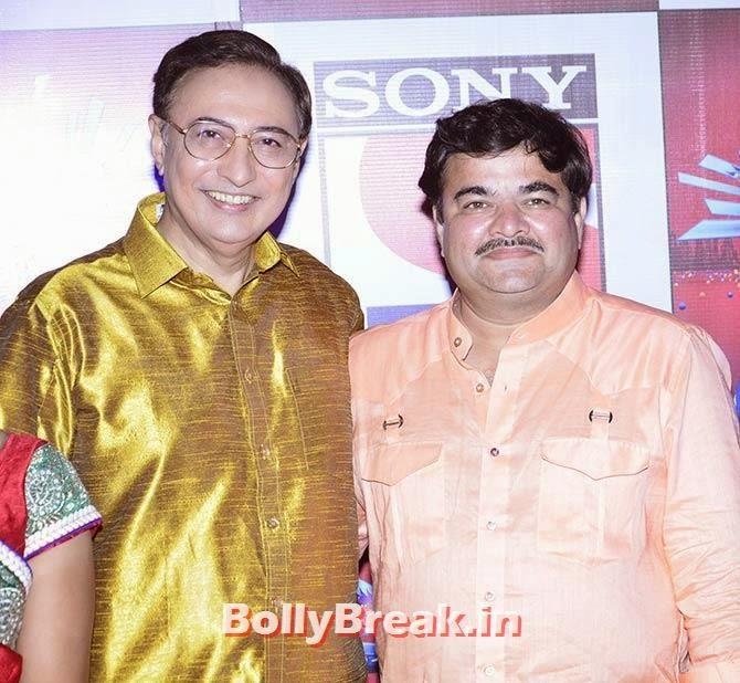 Anang Desai and Prashant Damle, SAB Ke Anokhe Awards Photo Gallery