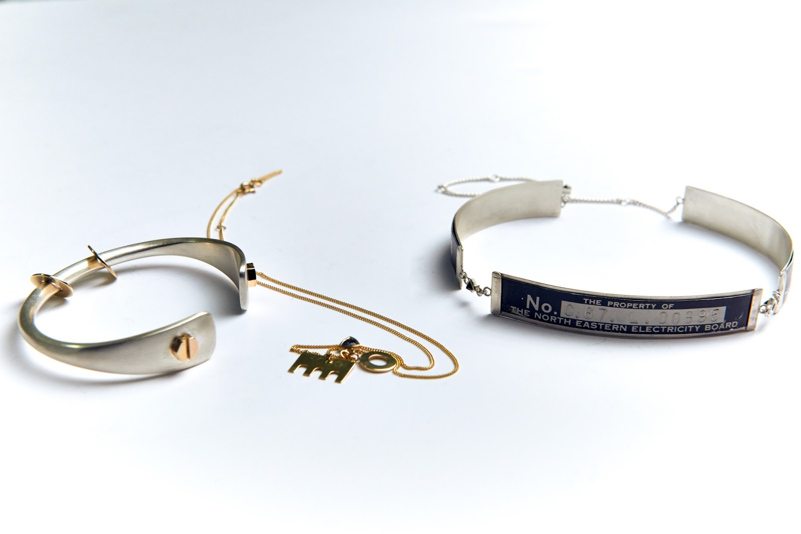 Kat Clark Smart Meter jewellery design
