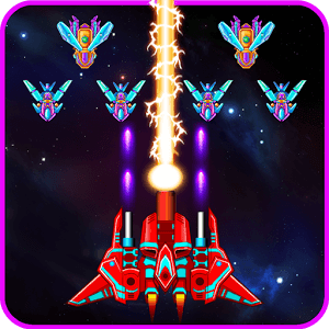 Galaxy Attack Alien Shooter - VER. 21.6 Unlimited Diamond MOD APK