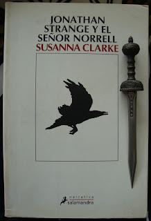 Portada del libro Jonathan Strange y el señor Norrell, de Susana Clarke