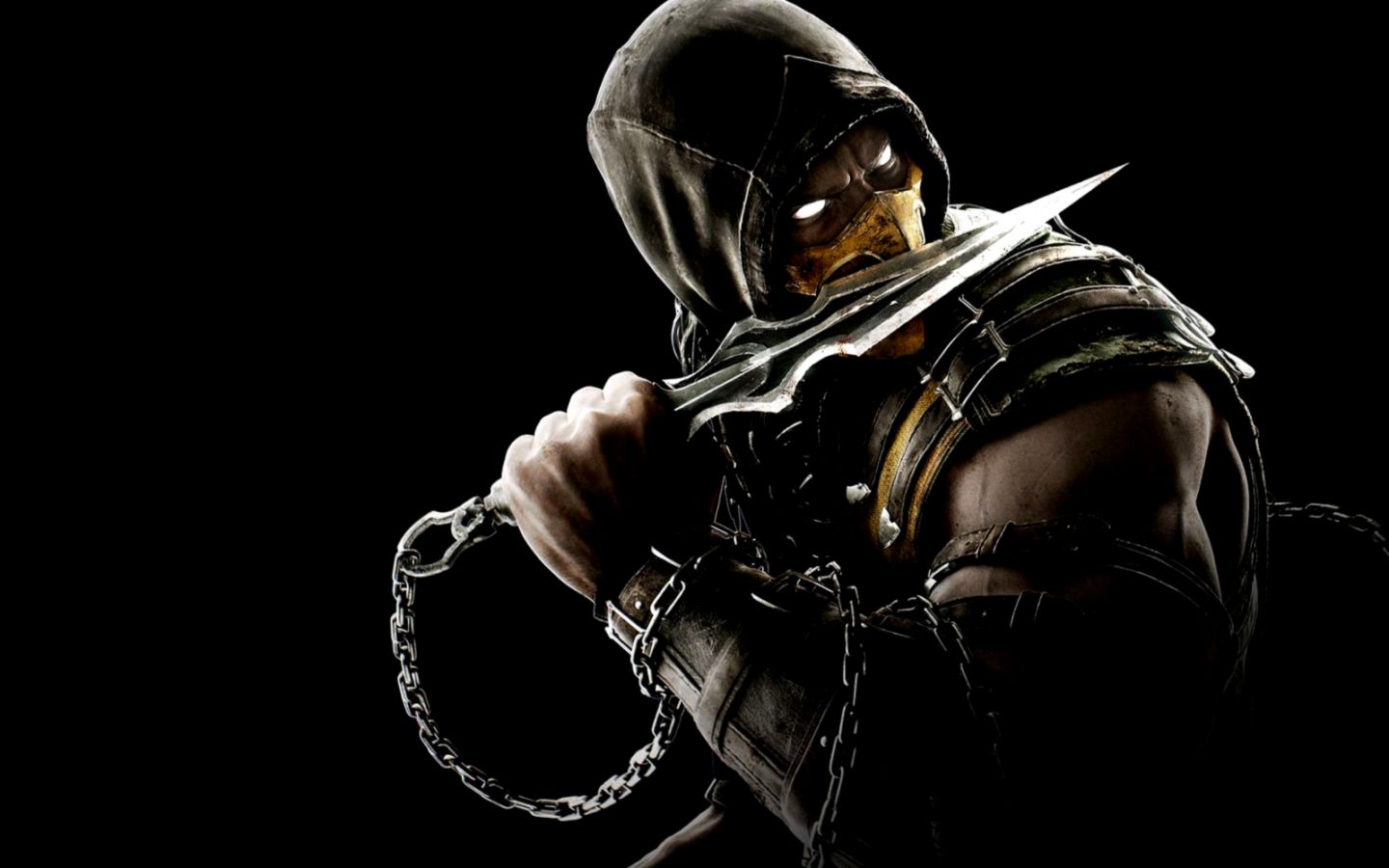 Mortal kombat x game wallpaper free download game - Mortal kombat scorpion wallpaper ...