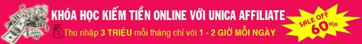 Kiếm tiền online với Unica
