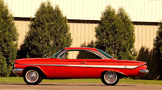 1961 Chevrolet Impala SS Side Left