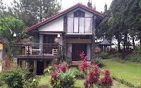 villa murah di lembang - villa istana bunga 2 kamar