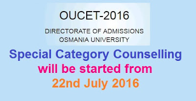 OUCET Special category Counselling