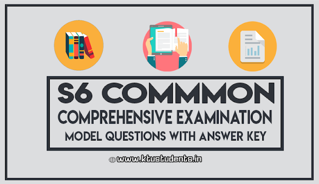 ktu Comprehensive Examination question with answers