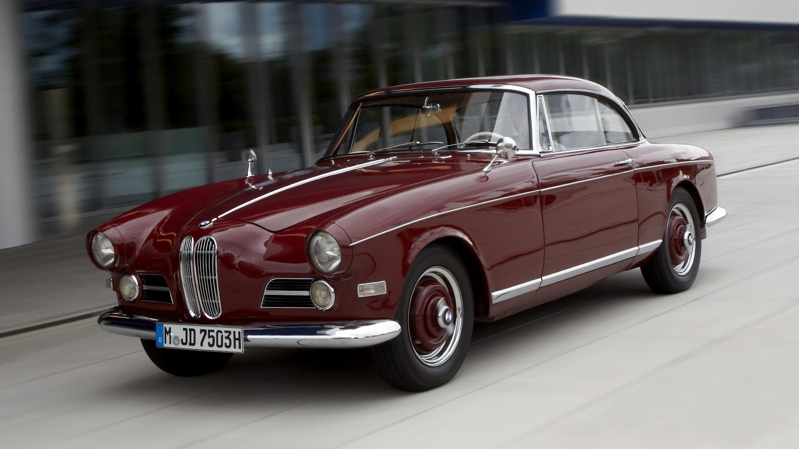 1956-1959 BMW 503 Coupe / Convertible