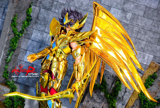 Legendary Golden Pegasus... Seiya of Sagittarius!! [Indoor Photoshoot+diorama]