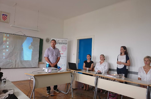 2nd transnational project meeting in Hvar, Croatia