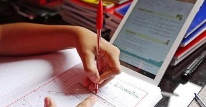 MINEDU: Hoy se inicia asignación de vacantes a colegios públicos en Plataforma Virtual [VIDEO] www.matricula2020.pe