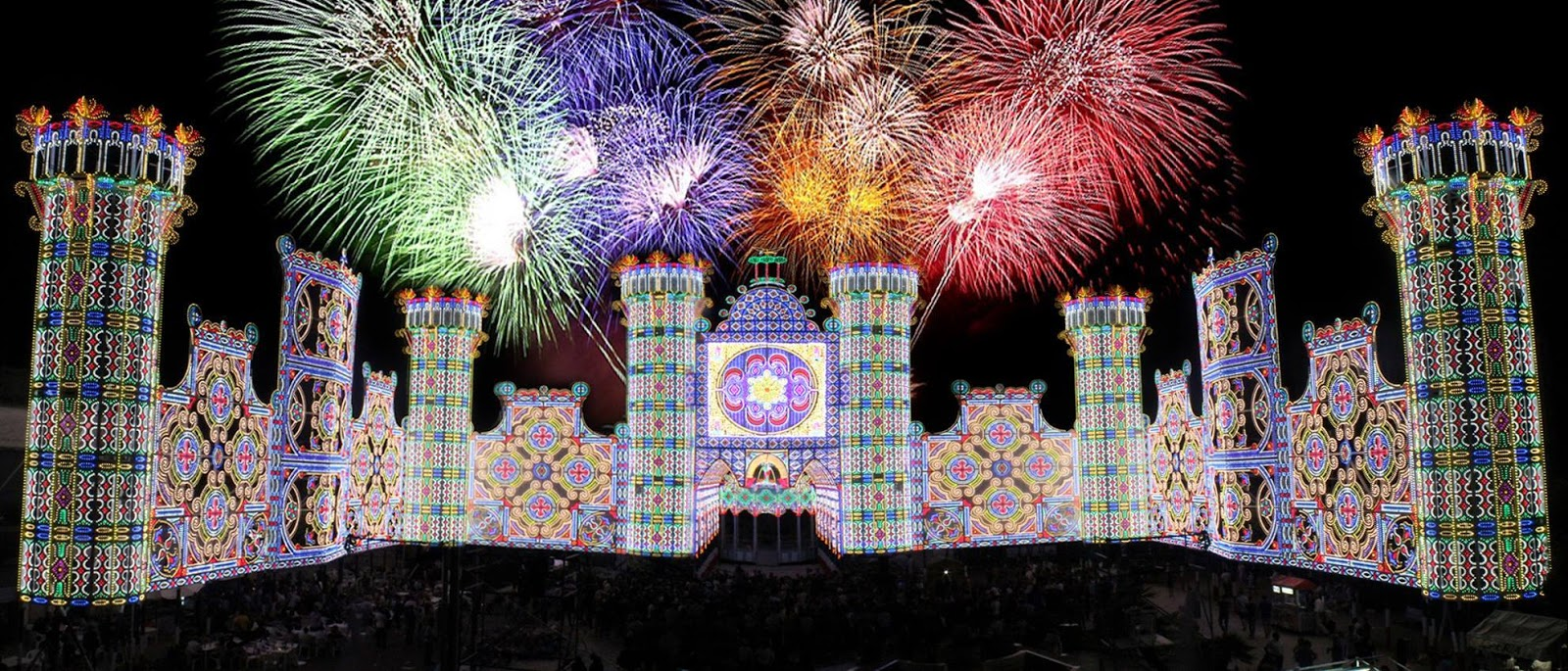 The wise saru luminarie di kobe for Luminarie puglia