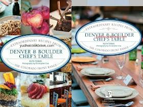 DENVER & BOULDER CHEF'S TABLE -  Extraordinary Recipes