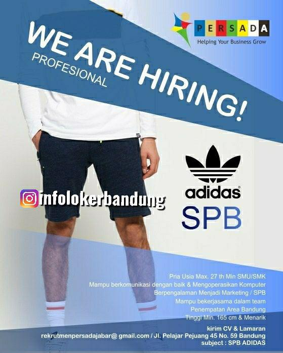 Lowongan Kerja SPB Adidas Persada Bandung Maret 2019
