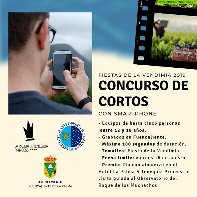 Concurso de Cortos Fiestas de La Vendimia 2019 en Fuencaliente