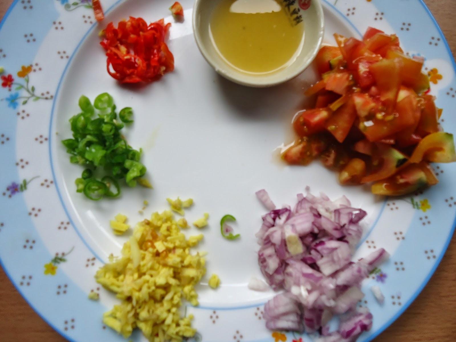herbs for Fish Kinilaw