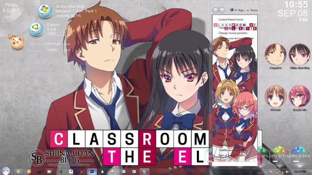 Classroom of The Elite Theme Win 7 by Enji Riz Lazuardi