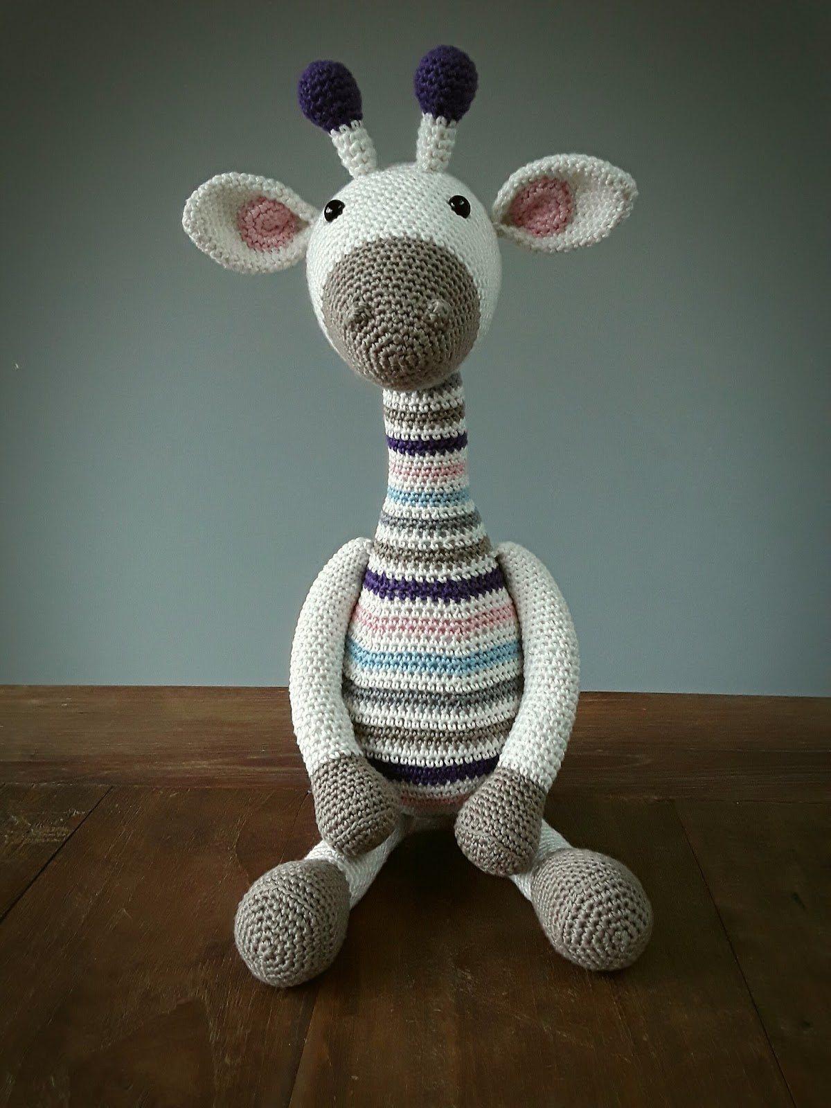 Hip Homemade Gijs Giraffe En Een Mini Rammelversie