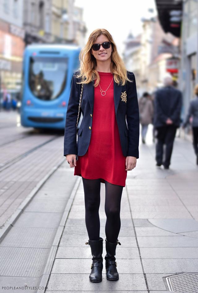 Miranda Buković latest street winter 2014 fashion